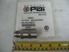 Detroit Diesel Series 60 Fuel Pump Check Valve PAI 645051 Ref# 23516919 23509140