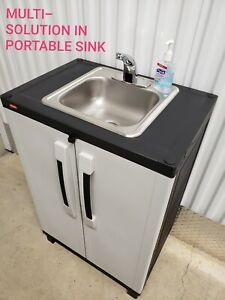 Portable-sink-NSF-Self-contained-Hot-amp-cold-Water-with-Automatic-sensor-DELUXE