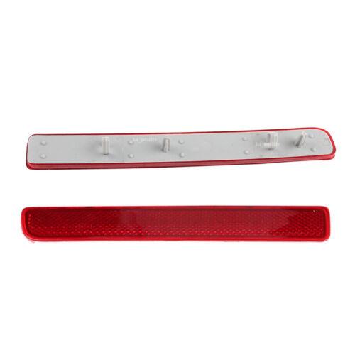 XFF500020+XFF500030 Rear L+R Bumper Red Reflector For LR3 LR4 Range Rover Sport