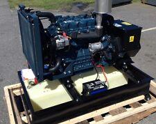20 KW Diesel Generator Kubota 25 gallon base tank included