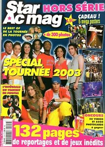 Star-Ac-mag-Hors-Serie-n-2-Speciale-tournee-2003-Nolwenn-Leroy-avec-posters