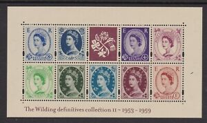 GB-GREAT-BRITAIN-2003-2nd-WILDINGS-MINIATURE-SHEET-NEVER-HINGED-MINT