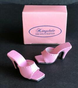 Shoes-Sandals-for-16-034-Tyler-Gene-Dolls-Slip-on-Kingstate-Pink-New-in-Box