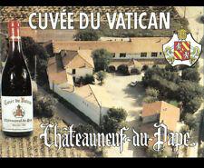CHATEAUNEUF-du-PAPE (84) CAVE DIFFONTY / Cuvée du VATICAN / DOMAINE vue aérienne