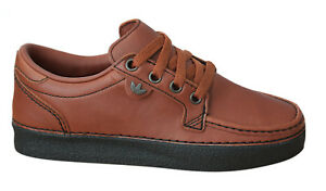 bb8ee1213971 Adidas Originals Mccarten Spezial Mens Trainers Leather Shoes Brown ...