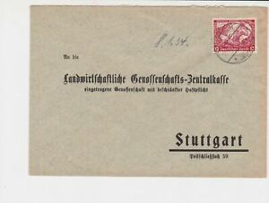 germany 1930s wagners opera stamps cover ref 20097
