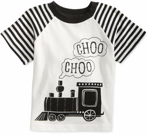 First Impressions Baby Boys' Raglan-Sleeve Train T-Shirt Sizes 3 To 24 Months