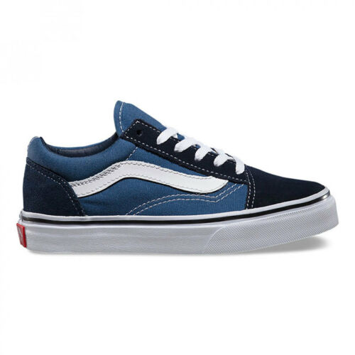 Old Chaussures Navy Skool True White Bimbo Vans Fwz1fxqqd