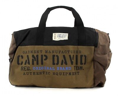 Camp David Cross Body Bag Camden Bay Travel Black