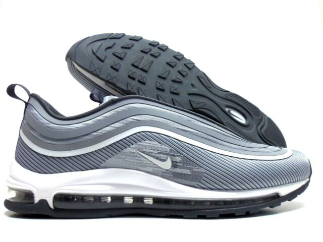 Details about Nike Air Max 97 Ultra 17 Grey Silver Bullet Men Running Shoe Sneakers 918356 007