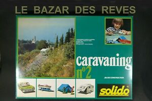 SOLIDO-FRANCE-Coffret-caravaning-N-2-FORD-THUNDERBIRD-REF-434-Boite