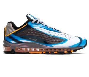 Nike-Air-Max-Deluxe-Photo-Blue-Orange-Peel-AJ7831-401-Mens-Shoes