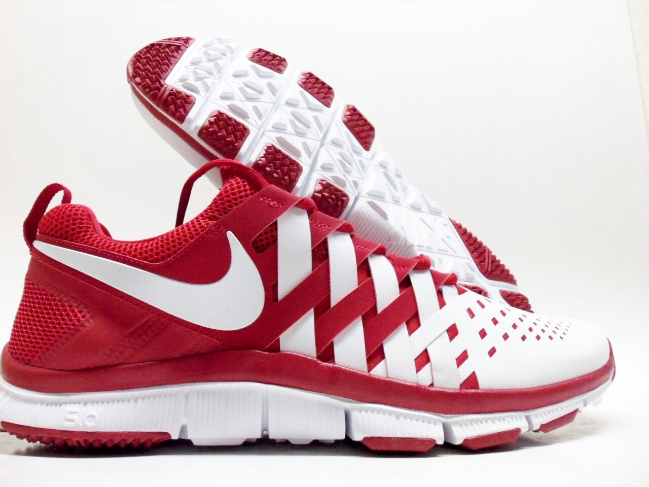 NIKE FREE TRAINER 5.0 TB GYM RED/WHITE SIZE MEN'S 14 [579811-601]