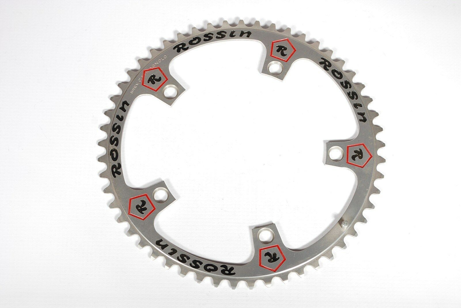 Vintage Campagnolo Record Super Record 53T 144BCD Pantographed Rossin Chainring