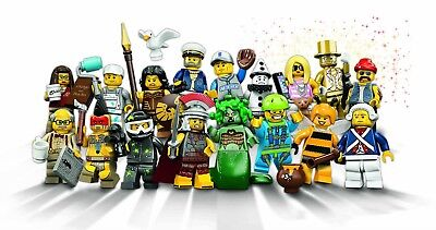 New choose one Lego Minifigures Serie 8-8833 Figurines neuves au choix