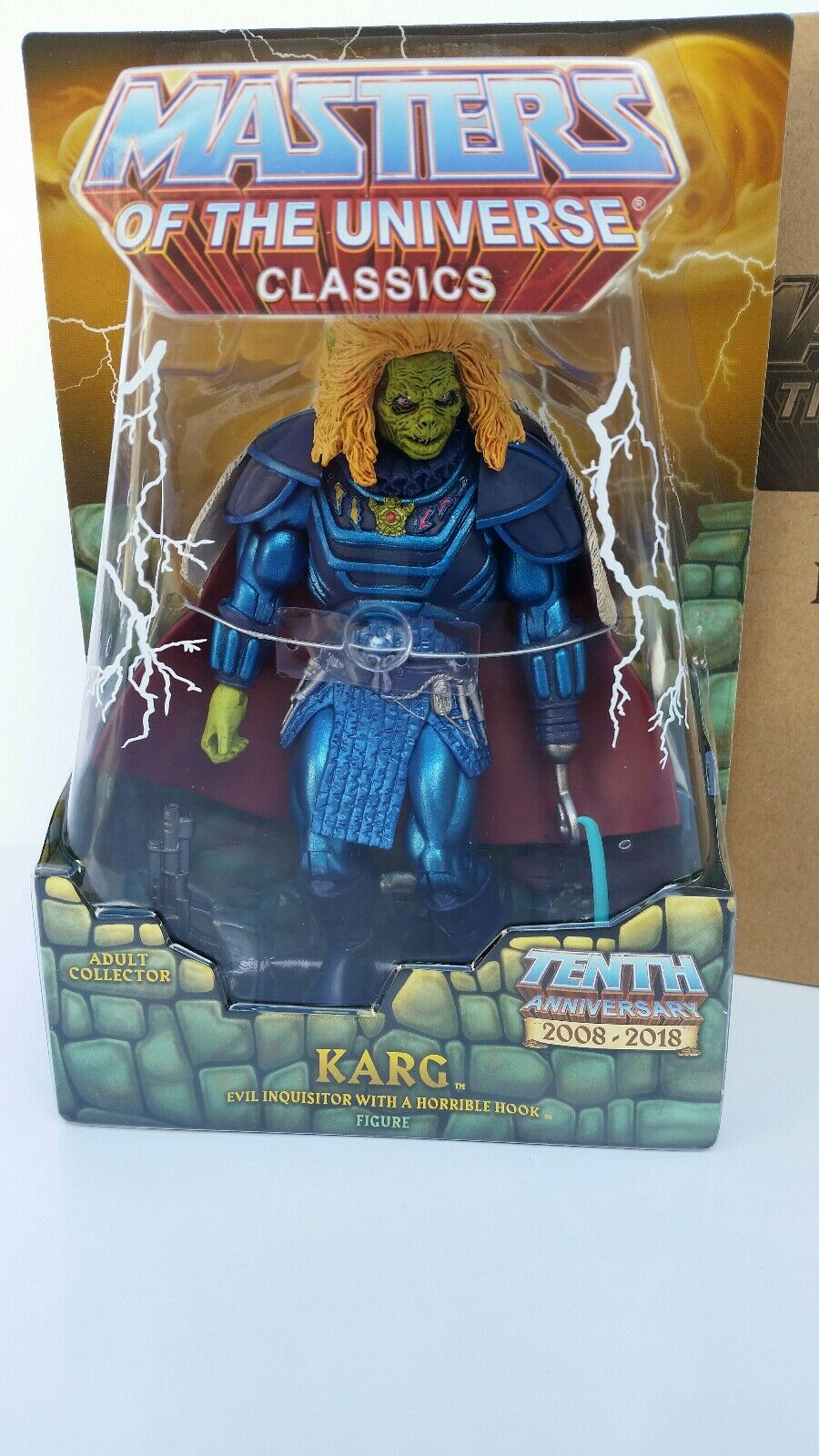HE-MAN MOTU CLASSICS 2018 Super 7 KARG 7  Action Figure - BRAND NEW  MISB