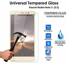 "Tempered Glass Screen Protector Cover For Xiaomi Redmi Note 3 (Universal 5.5"")"