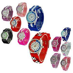 Reflex-Childrens-Time-Teacher-Velcro-Buckle-Watch-xmas-Gift-for-Kids-Girls-Boy