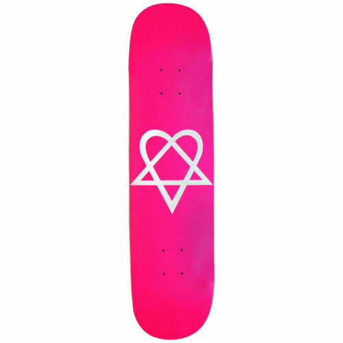 Heartagram Skateboard Deck CKY Bam Pink 7 5 Decks for sale online | eBay