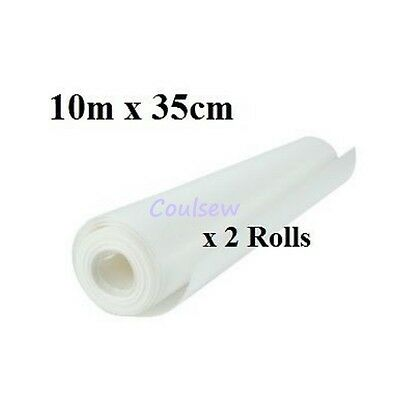 Embroidery Sewing Machine Stabiliser Backing 10m x35cm Discount Quantity Iron On
