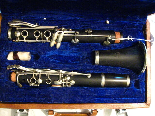 Vintage Otterol Wood-Bb Clarinet-Made in Paris-Overhauled  Nice