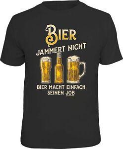 Fun-T-SHIRT-Biere-jammert-pas-et-rend-son-job-Hommes-cadeaux-haut