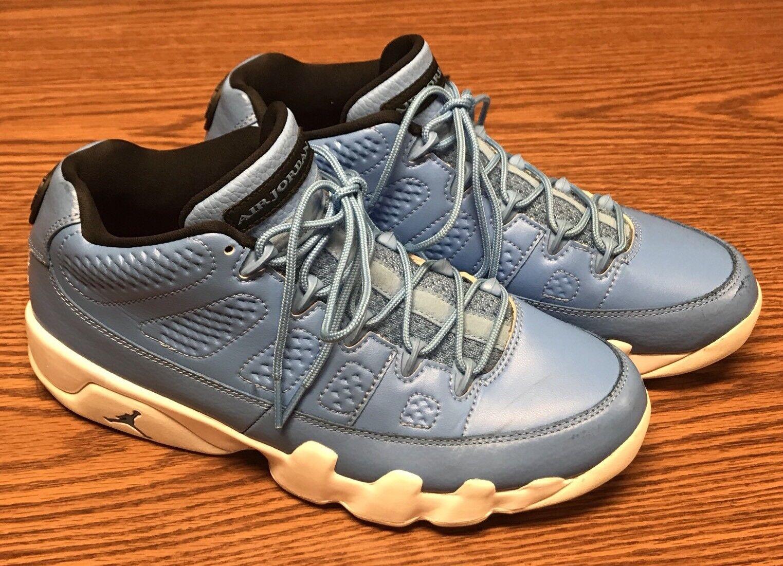 Brand discount Nike 832822 401 Air Jordan 9 Retro Low Pantone University Blue White Men's Sz 8