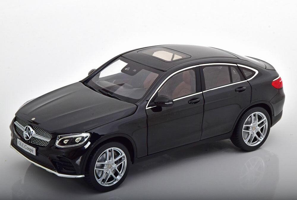 1 18 iScale Mercedes GLC-Class  Coupe 2018 schwarz