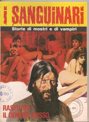 I Sanguinari #21 1976 Bronze Age B+W Italian Lang Digest VF+