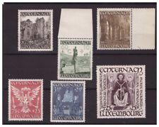 LUSSEMBURGO  -  1947  ABBAZIA DI WILLIBRODRORD  SERIE   **