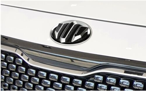 Kia Niro 2G Brenthon Hood Rear Trunk Steering Wheel Emblem Badge 3PC For 2017