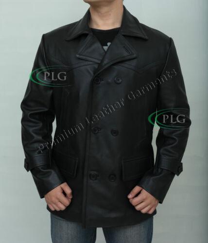 German Submarine WW2 Uboat Reefer Vintage Leather Coat Men/'s KRIEGSMARINE