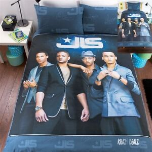 JLS-Outta-This-World-Double-Duvet-Cover-Bed-Set-Aston-Marvin-JB-Oritse