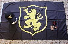 NSWDG Gold Squadron Flag, Cap & Patch Set SEAL Team Six Devgru Red Team ST6