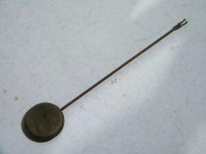 Ancien Balancier De Pendule Pendulette, 17,5 Cm, Poids 63 Gr Approvisionnement Suffisant