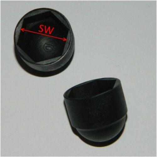 Schutzkappen für Schrauben M4 bis M20 Sechskant  Kappen Abdeckkappen  Hutmutter
