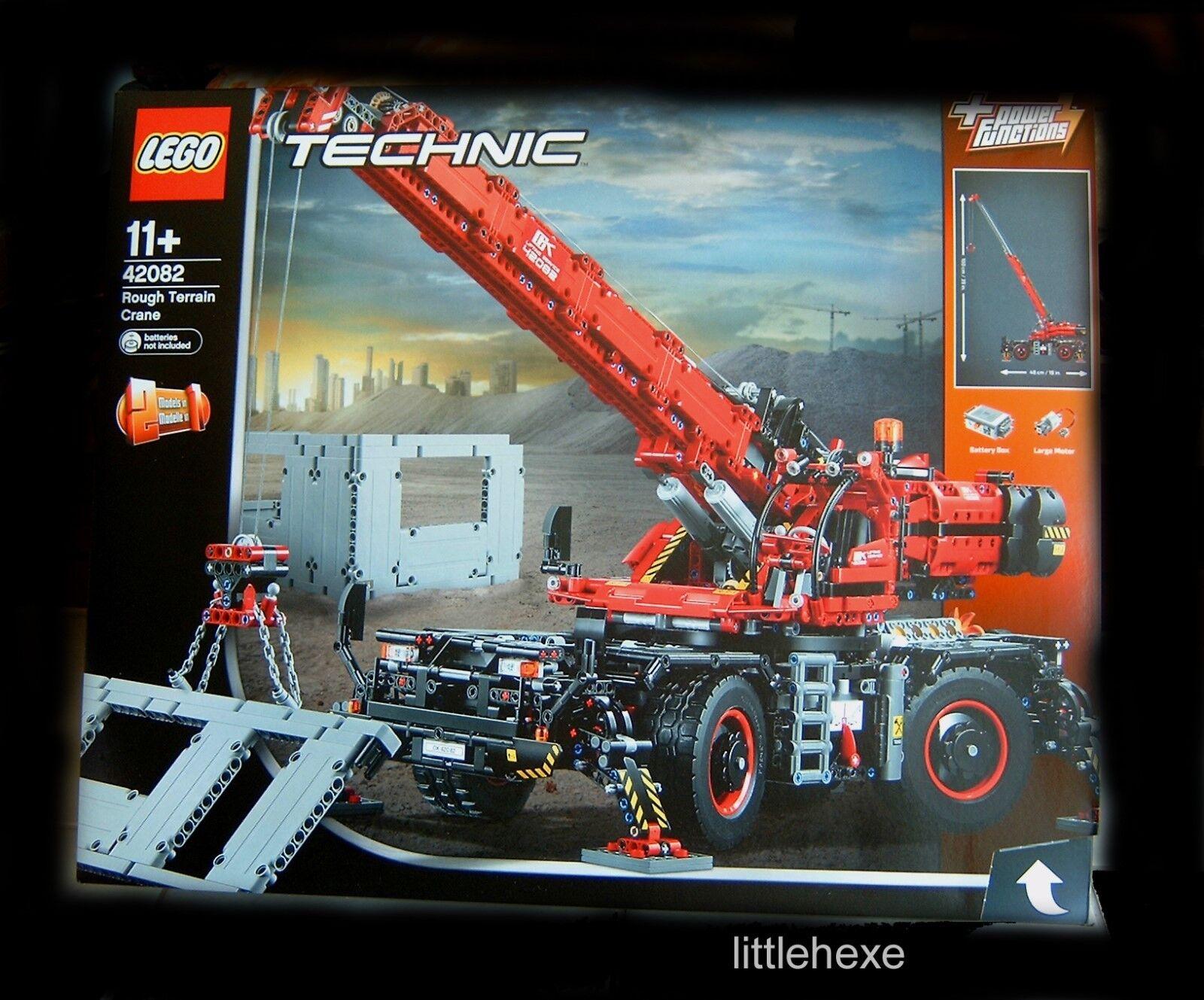 Lego Technic 42082 geländegängiger kranwagen móviles móviles móviles libre caso Hammer nuevo en el embalaje original  nueva gama alta exclusiva
