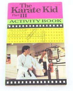 The-Karate-Kid-Part-III-3-Activity-Book-Cobra-Kai-1989