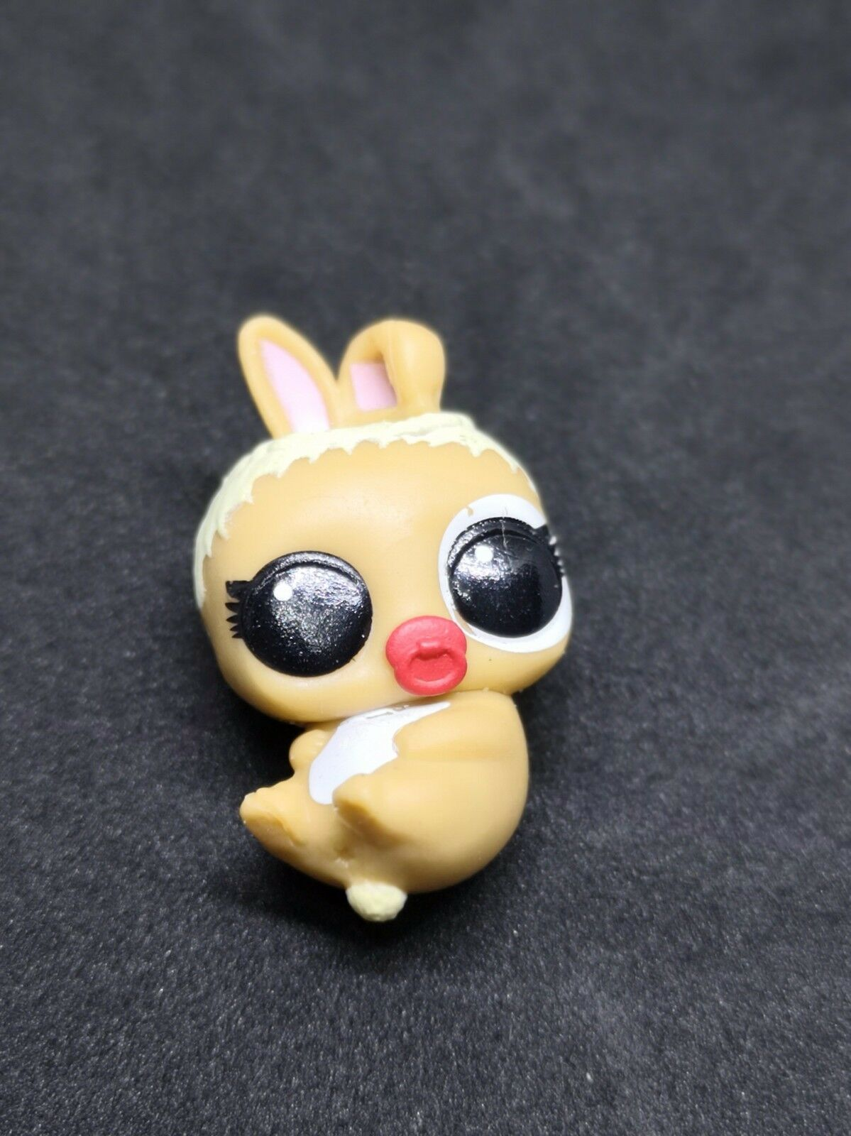 Rare LOL Surprise BIGGIE PETS RUNT DOLL MC HIPPITY HOP BUNNY Glitter Tan Bag