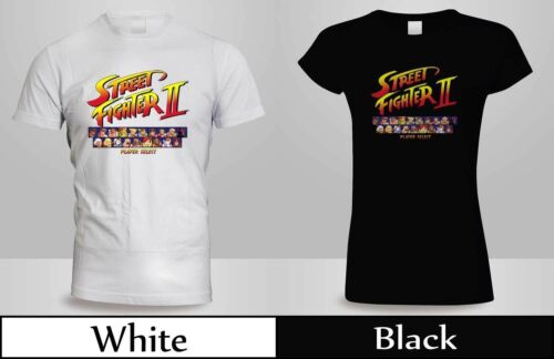 NEW STREET FIGHTER 2 CAPCOM PLAYER GAME VIDEO SELECT T-SHIRT MEN/'S// SHIRT 2 GP1
