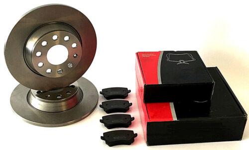 Bremsklötze hinten Bremsscheiben für die Hinterachse VW Passat 3C2 3C5