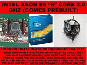 Details about INTEL SOCKET 2011 X79 MOTHERBOARD + INTEL XEON E5-2650 2 8  Ghz 8 core 16GB RAM