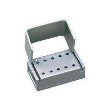 Palmero T10c Latch 10 Hole Anodized Aluminum Dental Bur Block La Latch