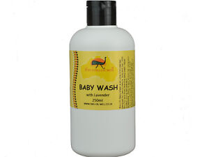 Natural Baby Wash With Emu Oil & Lavender Gentle & Soothing Evenly Tones 250 ml
