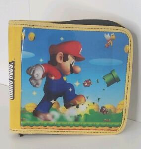 Nintendo DS Console Super Mario Brothers Carry Case Handheld System Game Case