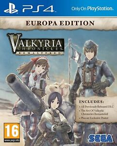 Valkyria-Chronicles-Remastered-Europa-Edition-For-PS4-New-amp-Sealed