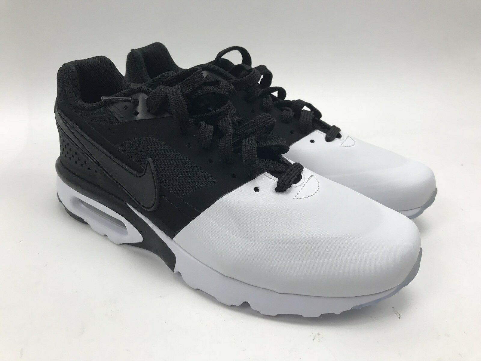 Nike Air Max BW Ultra SE Running Shoes Mens Size 10 Black White 844967-101