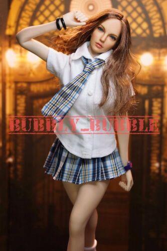 "1//6 School Girl Uniform Set For 12/"" PHICEN Hot Toys VERYCOOL Female Figure ☆USA☆"