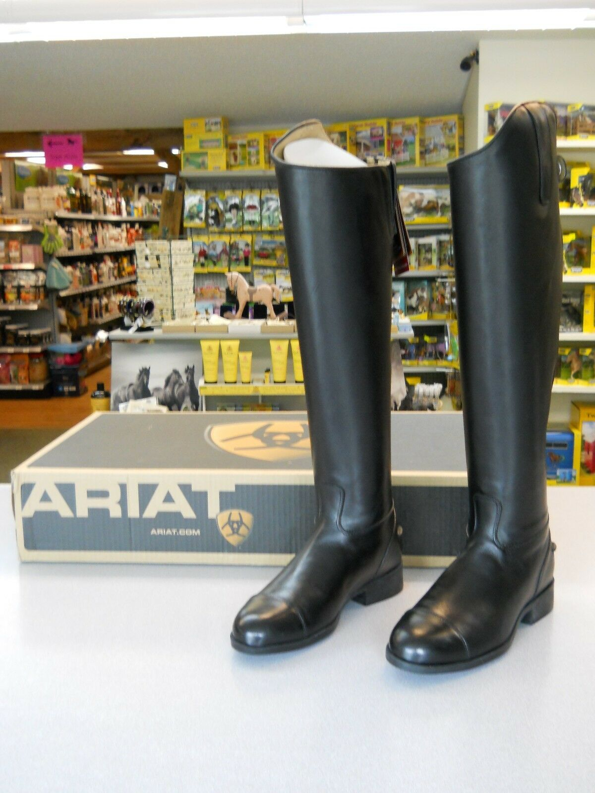 Ariat Westchester Dress Boots Ladies 6.5 Med Full