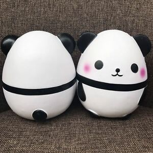 Kawaii Jumbo Big Panda Squishy Soft Doll Collectibles Cartoon Super Slow Rising#